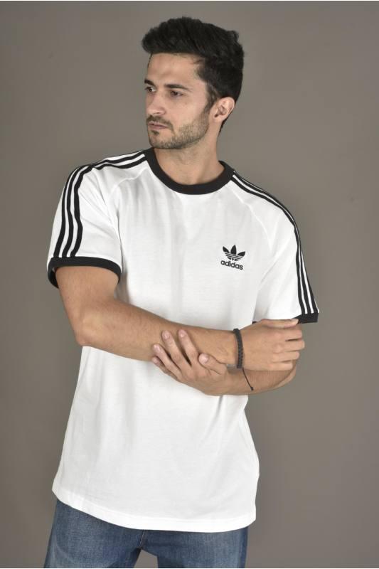 Susceptibles a Son Espesar  Adidas ORIGINALS Férfi Rövid ujjú T Shirt, Fehér 3-STRIPES TEE, CW1203 XXL  INTL - eMAG.hu