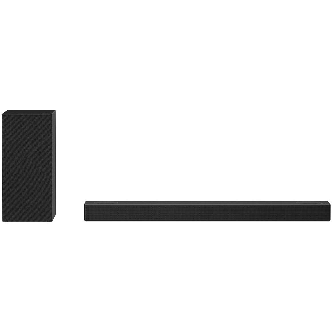 Fotografie Soundbar LG SN7Y, 3.1.2, 380W, Bluetooth, Subwoofer Wireless, Dolby, negru