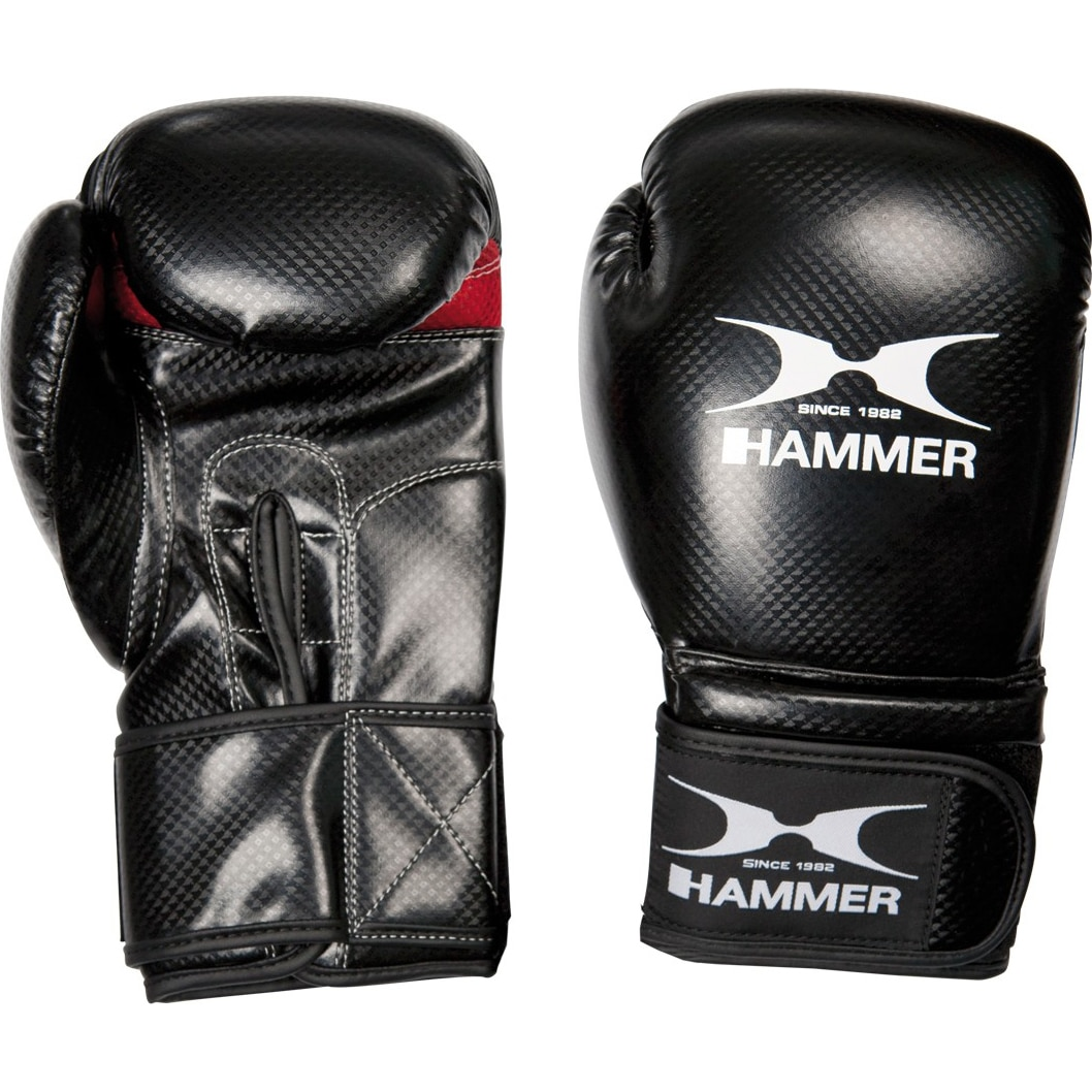 Fotografie Manusi box Hammer X-Shock, negru, Negru, 12 Oz