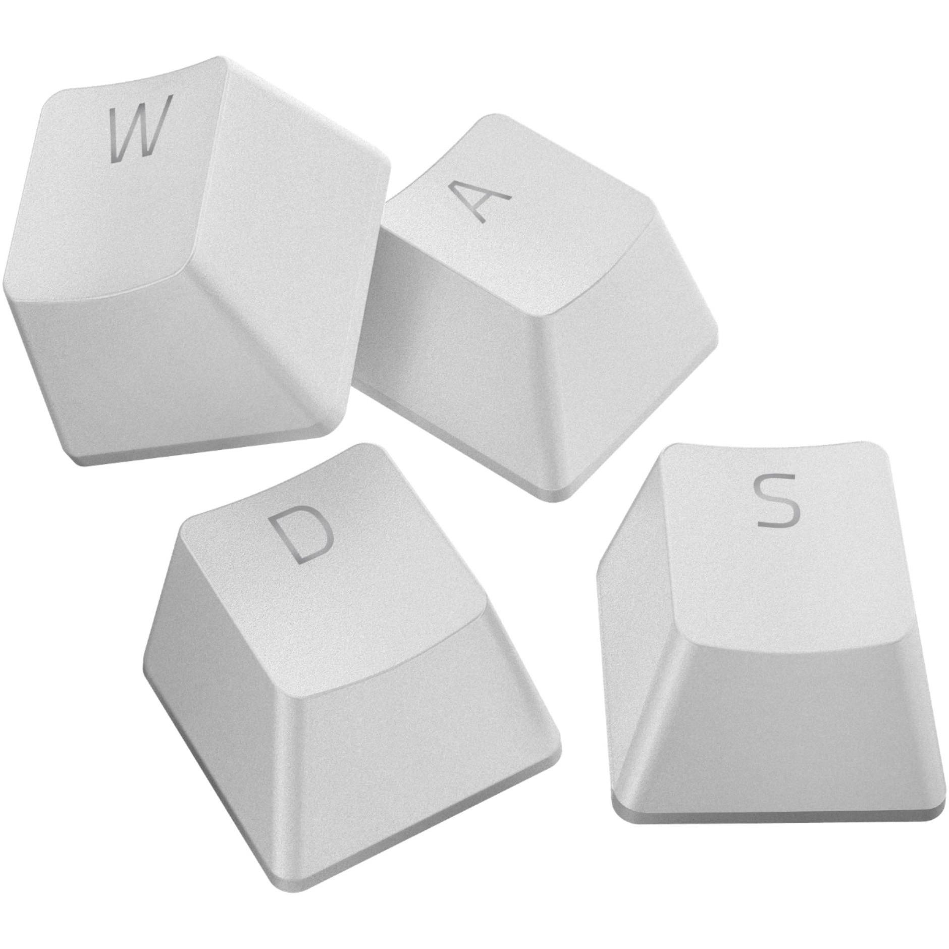 Fotografie Kit butoane tastatura Razer PBT Doubleshot, compatibile switch mecanic si optic Razer - Mercury White