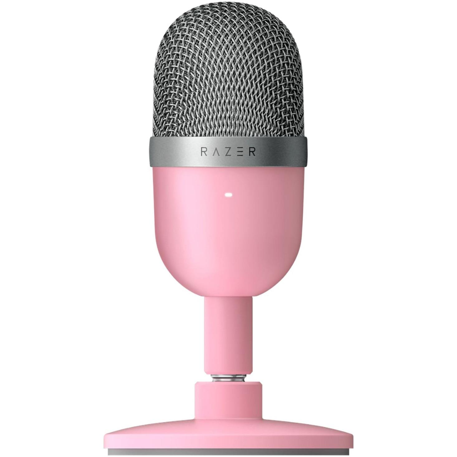 Fotografie Microfon gaming Razer Seiren Mini, Roz Quartz