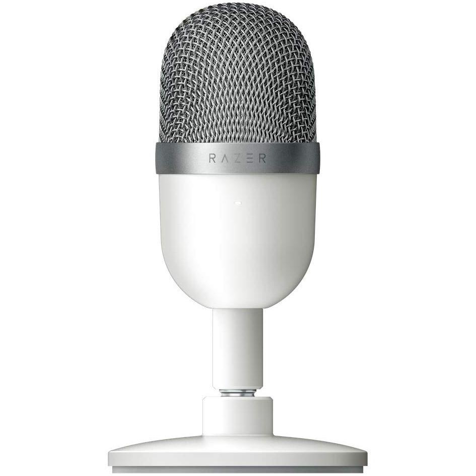 Fotografie Microfon gaming Razer Seiren Mini, Alb mercury