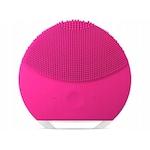 Szonikus szilikon arctisztító és masszírozó készülék USB-s akkumulátorral - pink
