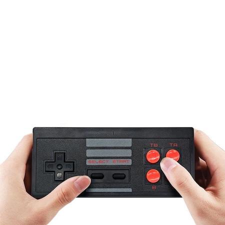 Consola Retro Wireless cu 2 Controllere, 620 de jocuri integrate, Blasko