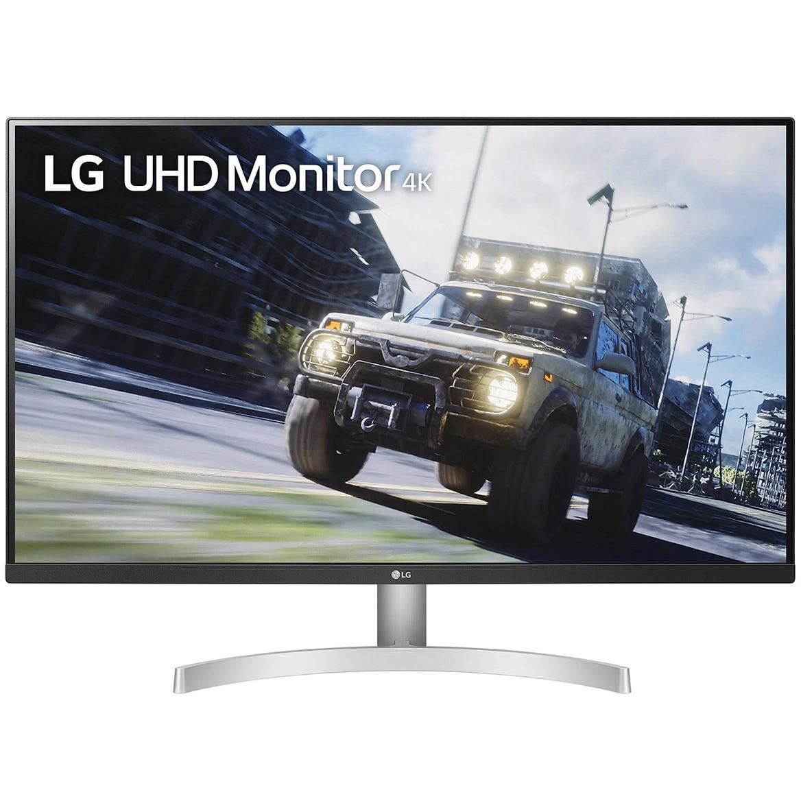 "Fotografie Monitor LED VA LG 31.5"", 4K UHD, HDR10, FreeSync, HDMI, DP, 32UN500-W"
