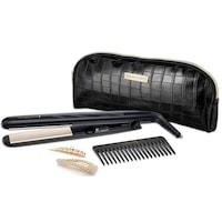 Remington S3505GP StyleEdition hajsimító ajándékcsomagolásban, 150-230 fok között állítható hőmérséklet, 15mp-es felmelegedés, 110mm hosszúságú rugalmas simító lapok
