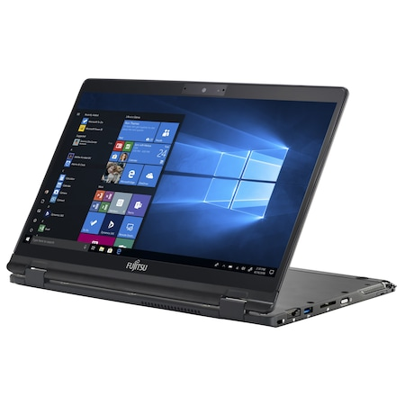 Лаптоп Fujitsu LifeBook U939X с Intel Core i7-8665U (1.90/4.80 GHz, 8M), 16 GB, 1TB M.2 NVMe SSD, Intel UHD Graphics 620, Windows 10 Pro 64-bit, черен