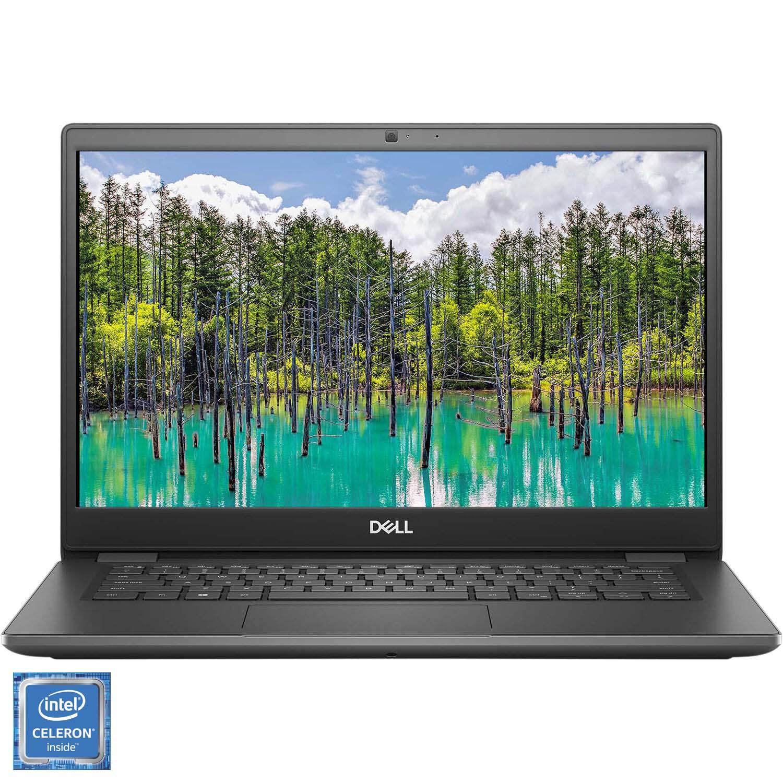 "Fotografie Laptop ultraportabil Dell Latitude 3410 cu procesor Intel® Celeron™ 5205U 1.90 GHz, 14"", Full HD, 4GB, 128GB SSD, Intel UHD Graphics, Ubuntu, Grey"
