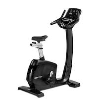 Bicicleta exercitii FLOW FITNESS UB5i, Volanta 16 Kg, Greutate utilizator 180 Kg, 24 programe antrenament, Bluetooth, Port USB, Sa reglabila, Negru