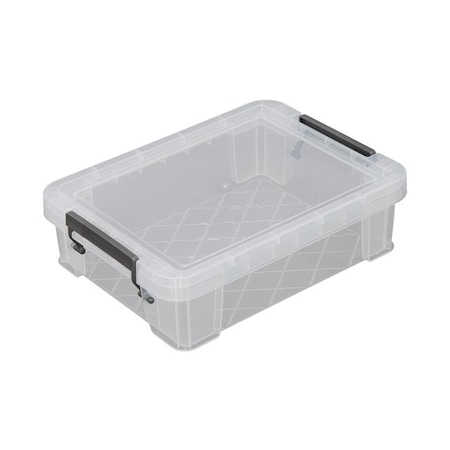 ALLSTORE műanyag tárolódoboz, átlátszó, 2,3 liter