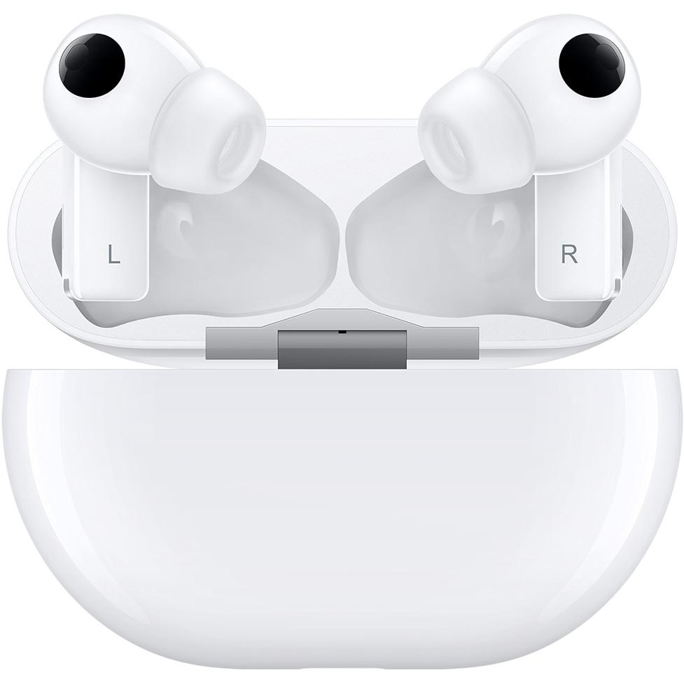 Fotografie Casti bluetooth Huawei FreeBuds Pro, Ceramic White