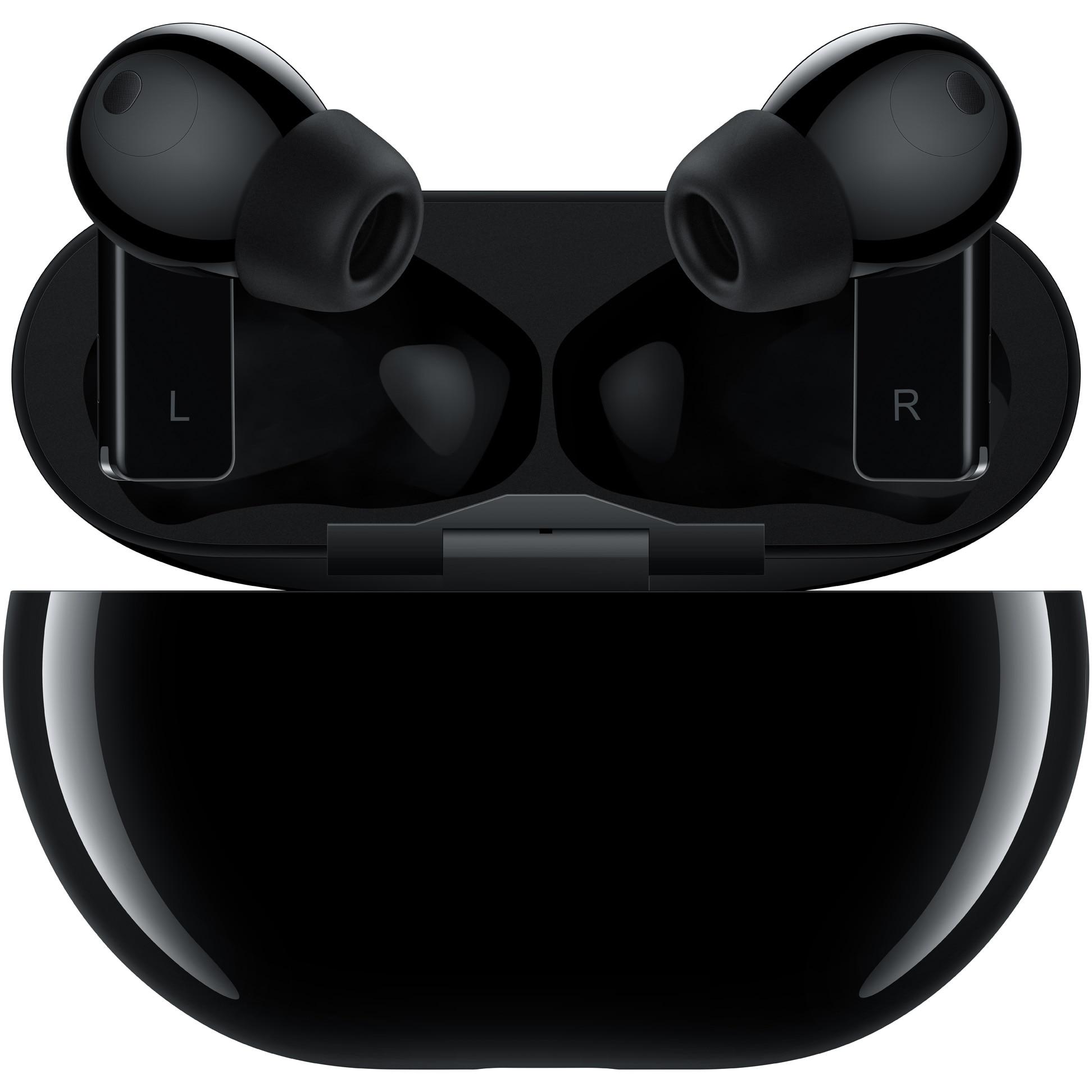 Fotografie Casti bluetooth Huawei FreeBuds Pro, Carbon Black