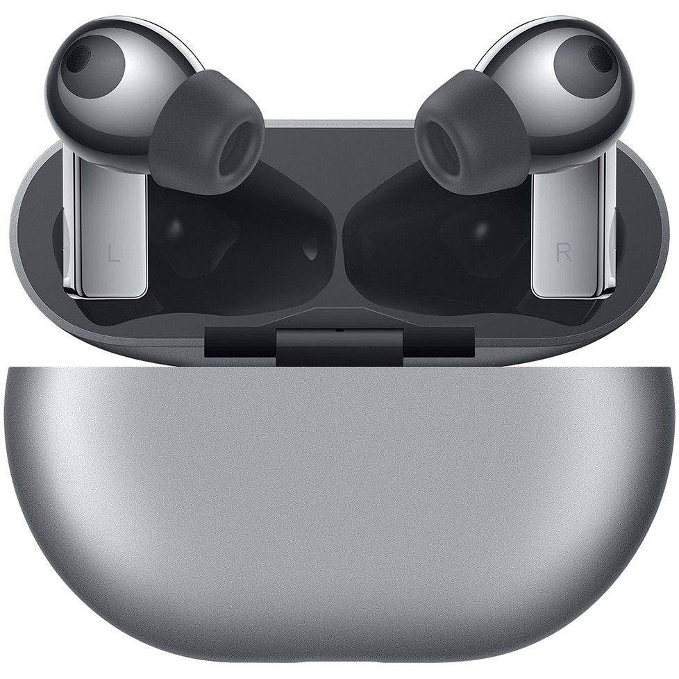 Fotografie Casti bluetooth Huawei FreeBuds Pro, Silver Frost