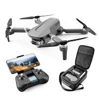Дрон SLX F4 4K 5G GPS, сгъваеми рамена, wifi, бутон Return To Home, 4K HD камера с предаване на живо по телефона, капацитет на батерията: 7.4V 3500 mAh, автономност на полета ~ 25 минути