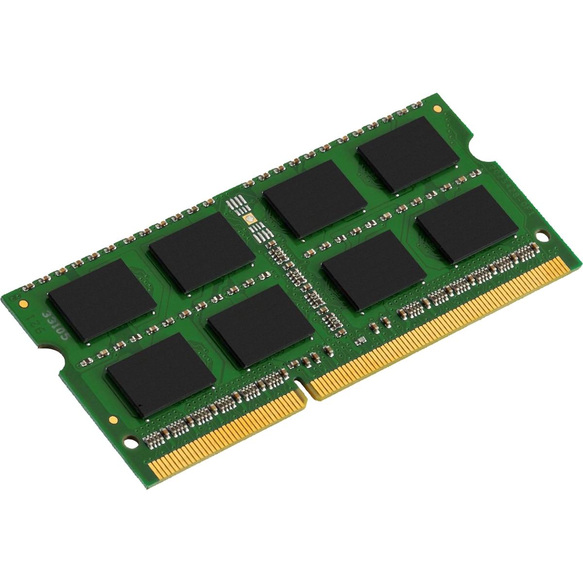 Fotografie Memorie Kingston 4GB SODIMM, DDR3, 1333MHz