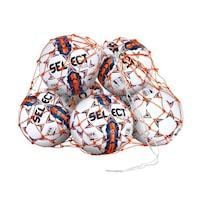Select nylon futball-labdák szállítására szolgáló háló, kapacitása 14-16 labda, 5-ös méret