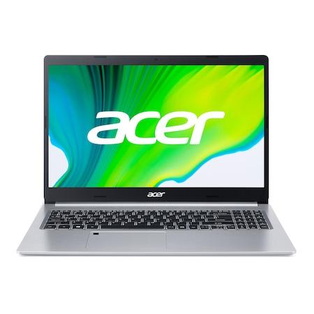Лаптоп Acer Aspire 5 A515-44G-R8HL с AMD Ryzen 5 4500U (2.3/4.0GHz, 8M), 16 GB, 1TB M.2 NVMe SSD, AMD RX 640 2 GB GDDR5, Linux, сребрист
