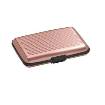 Portofel Lumi LUXURY special pentru carduri, roz, 11x7x2 cm