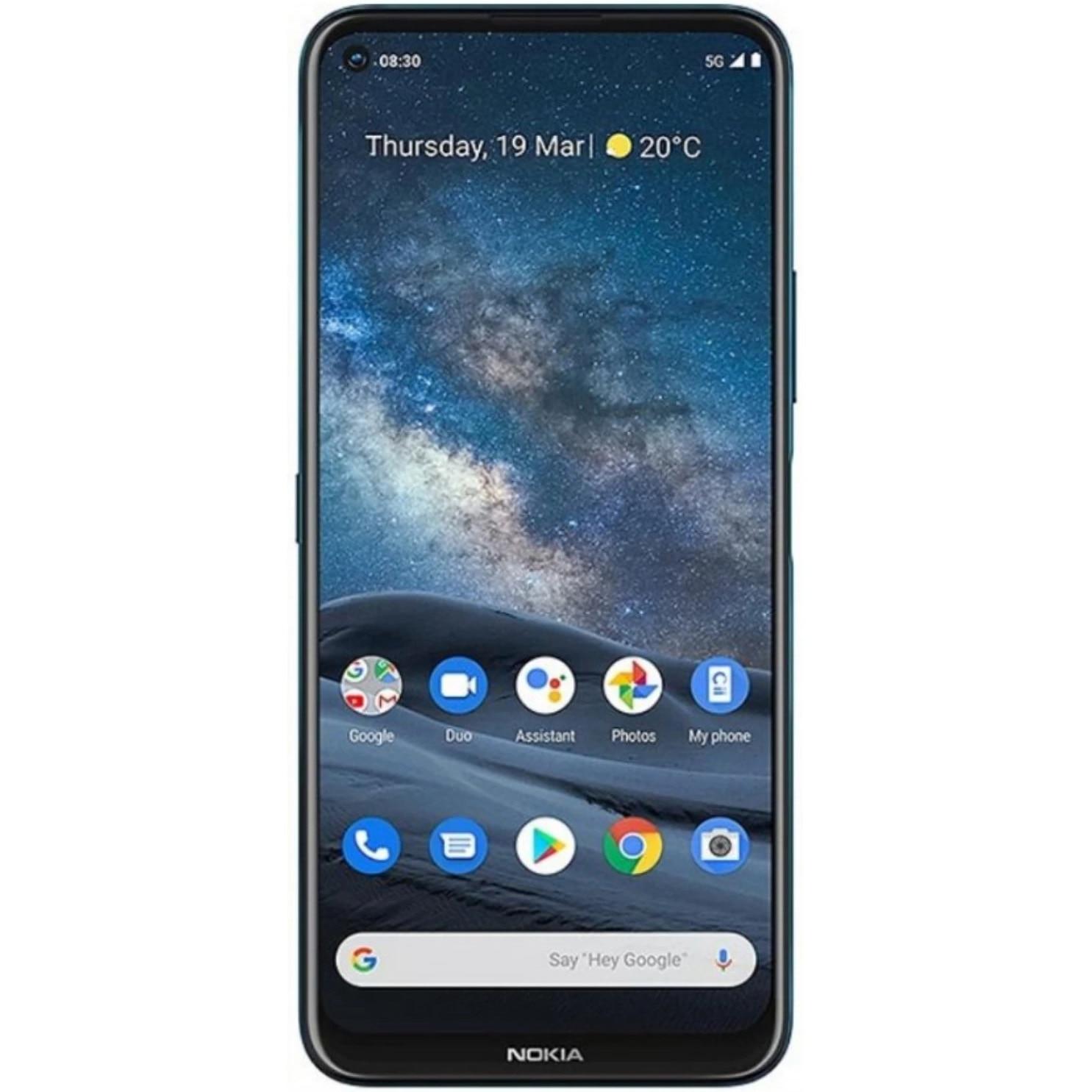 Fotografie Telefon mobil Nokia 8.3, Dual SIM, 64GB, 6GB RAM, 5G, Polar Night
