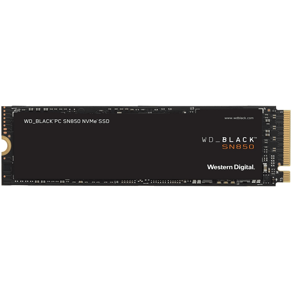 Fotografie Solid State Drive (SSD) WD Black SN850, 2TB, NVMe, M.2.