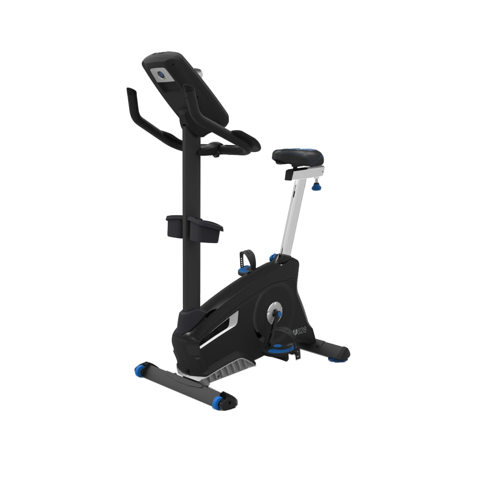 Fotografie Bicicleta fitness Nautilus U628, volanta 13.6 kg, ergometru 25-400 watt, Bluetooth, greutate maxima utilizator 148 kg