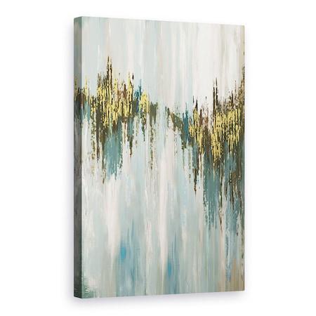 Absztrakt, Holdfény hajtás, Vászonkép, 60 x 90 cm