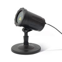 PHENOM lézer projektor – zöld / piros, leszúrótüskével, talppal