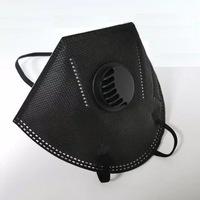 Предпазна маска TONY`S DECOR KN95 с клапа, черен