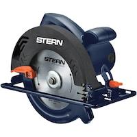 Циркуляр STERN CS185E, 1250 W, 6000 об/мин, 185 мм диаметър на диска, 38 мм максимална дълбочина на рязане