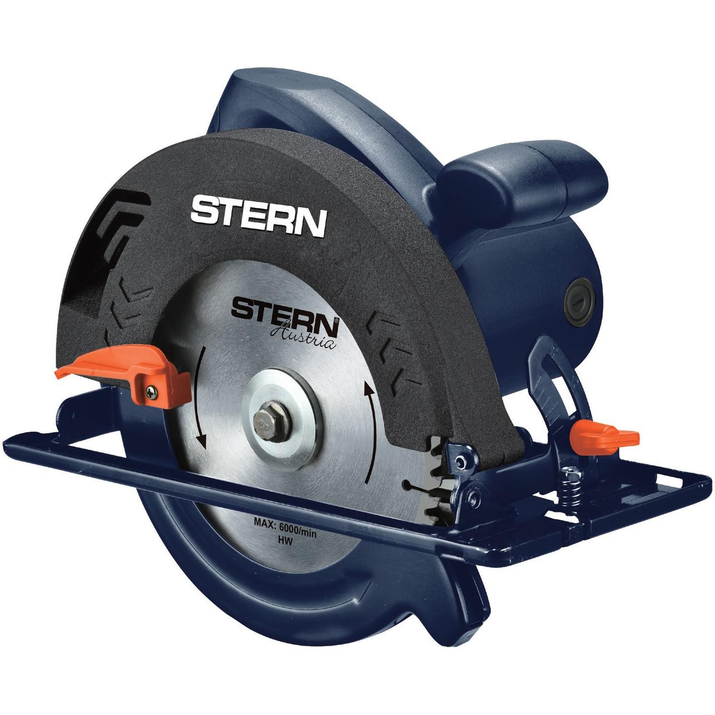 Fotografie Fierastrau pendular STERN CS185E, 1250 W, 6000 RPM, 185 mm diametru disc, 38 mm adancime maxima taiere
