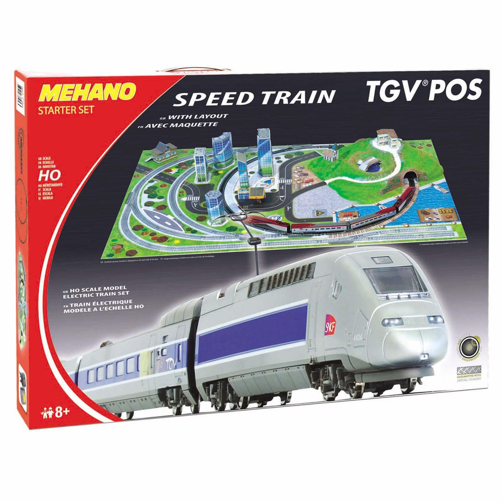 Fotografie Trenulet electric Mehano - TGV cu diorama