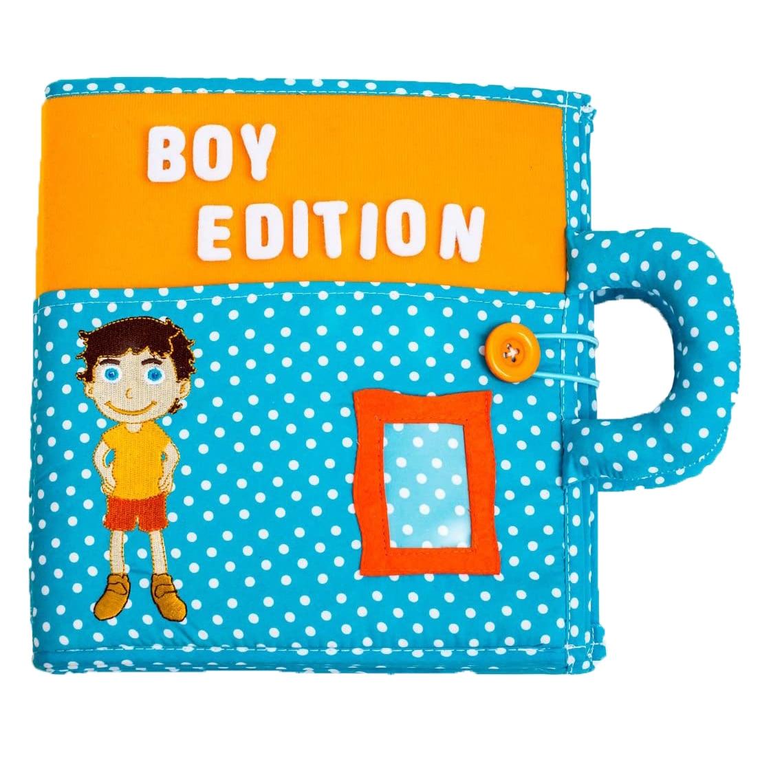 Fotografie Carticica cu activitati Piqipi - Quiet book, Boy Edition