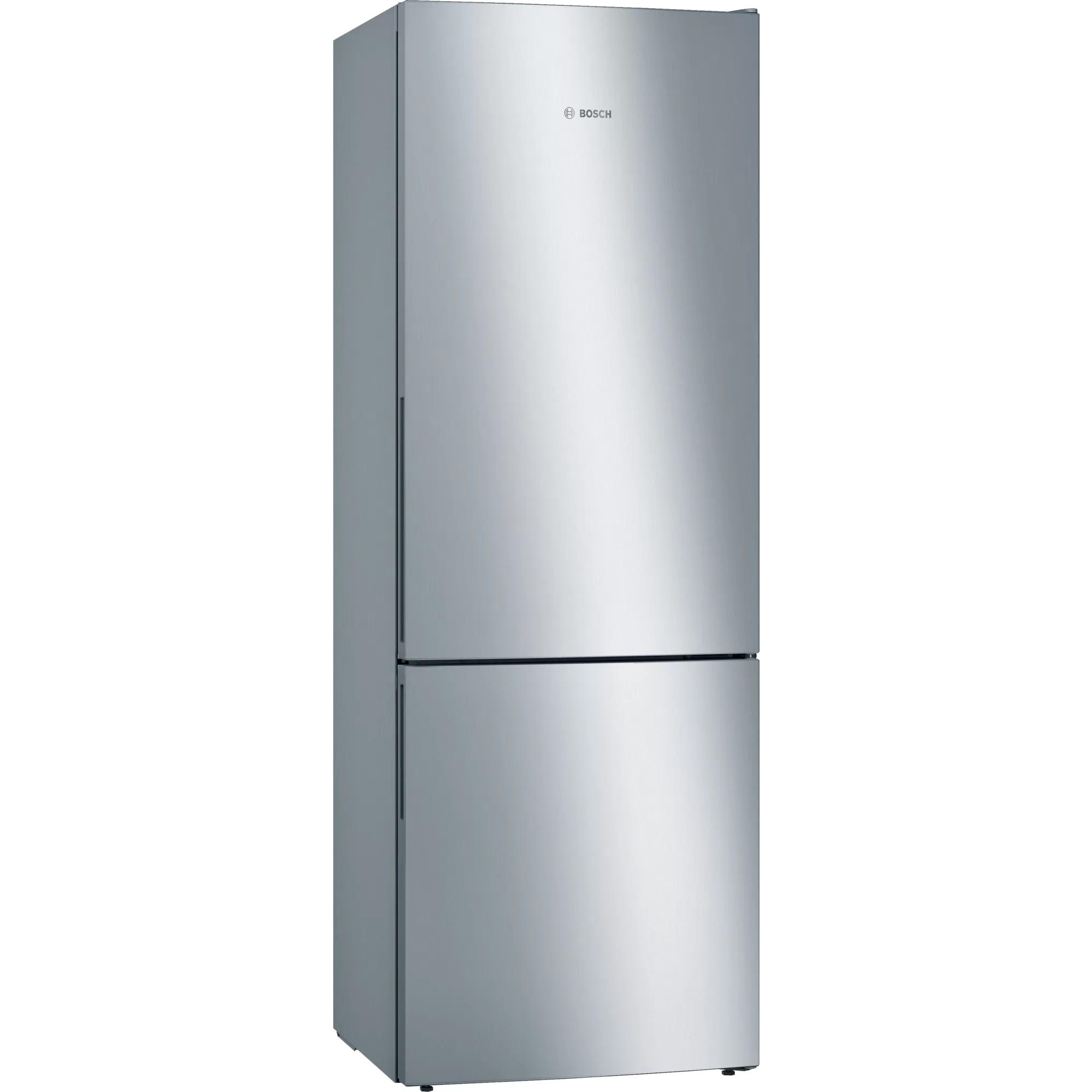 Fotografie Combina frigorifica Bosch KGE49AICA, 419 l, Clasa C, Low Frost, VitaFresh, H 201 cm, Inox antiamprenta