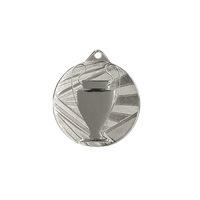 Спортен медал TRYUMF, Второ място, Диаметър 5 см, Сребрист