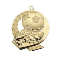 Спортен медал TRYUMF, Модел футбол, За 1-во място, Размер 43x50 см, Златист