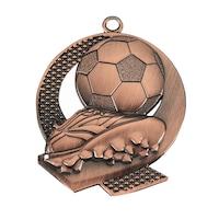 Спортен медал TRYUMF, Модел футбол, За 3-то място, Размер 43x50 см, Бронз