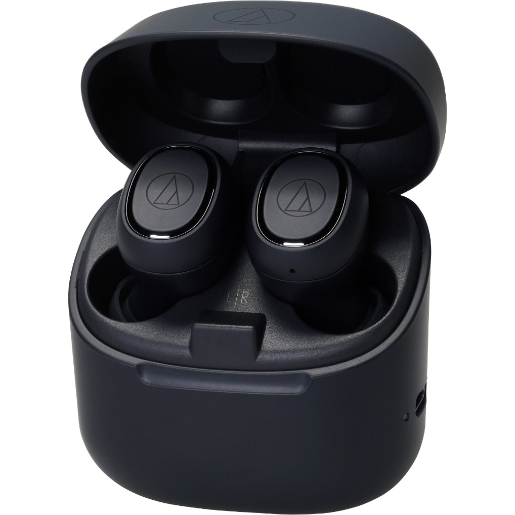 Fotografie Casti Audio In Ear Audio Technica ATH-CK3TW, True Wireless, Bluetooth, Microfon, Autonomie 6 ore, Negru