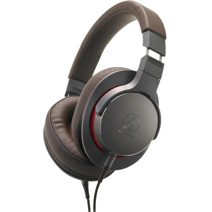 Fotografie Casti Audio Over the Ear Audio Technica ATH-MSR7b, Cu fir, Gun Metal