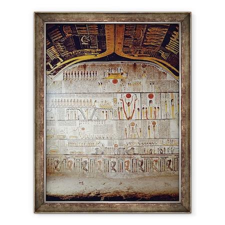 Egyptian 20th Dynasty - A Föld könyvének részletei, Keretezett kép, 60 x 80 cm