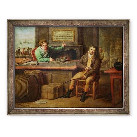 Dominique Doncre - Semmittevés, Keretezett kép, 60 x 80 cm