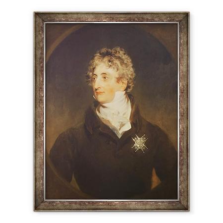 Thomas Lawrence - Armand-Emmanuel de Richelieu herceg portréja 1766-1822 1822, Keretezett kép, 60 x 80 cm