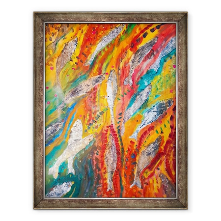 Tablou inramat - jocasta shakespeare - Crush Caraibe, 60 x 80 cm