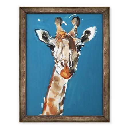 Tablou inramat - Mark Adlington - Masai Girafa, 2018, 60 x 80 cm