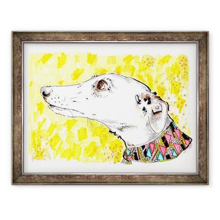 Jo Chambers - Silvertips Az Agár, Keretezett kép, 60 x 80 cm