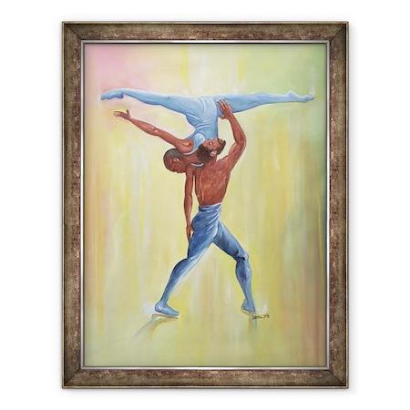 Ikahl Beckford - Tánc pár, Keretezett kép, 60 x 80 cm