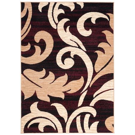 Levél mintás szőnyeg 160*230