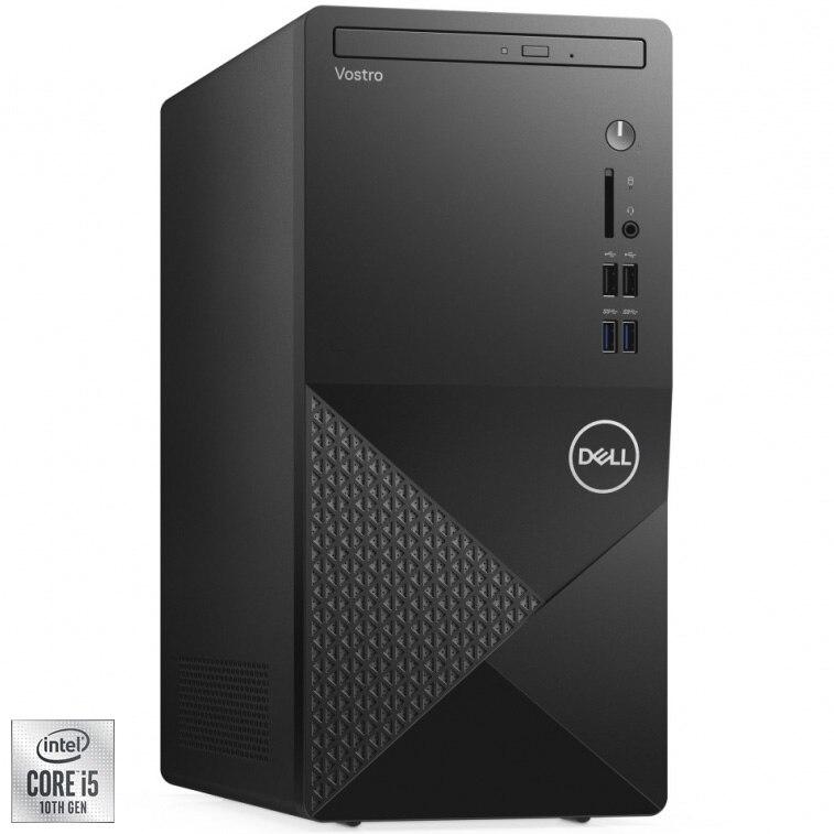 Fotografie Sistem Desktop PC Dell Vostro 3888 MT cu procesor Intel® Core™ i5-10400 pana la 4.30 GHz, Comet Lake, 8GB DDR4, 512GB SSD, Intel® UHD Graphics 630, Ubuntu