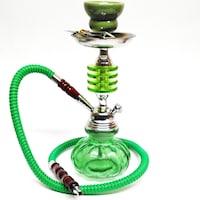 Наргиле HOOKAH, Зелен, 28 см