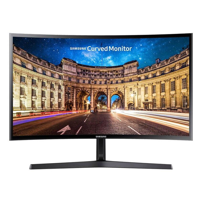 "Fotografie Monitor LED Samsung 24"" Curved, Full HD, D-Sub, HDMI, Negru, LC24F396FH"