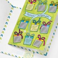 Скреч картичка ШантавоЕ 451 за рожден ден, с 9 предизвикателства, хартия, 21 х 15 см